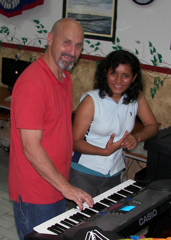 Bill and Tania at Piano