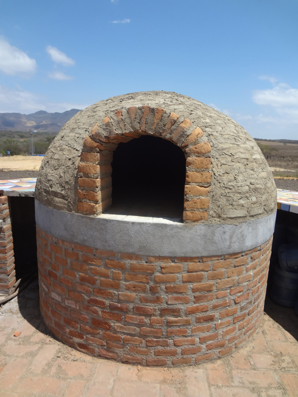 new bread oven